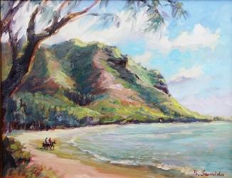 16.  Kahana Bay 11x14 2015
