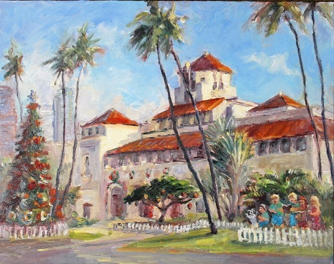 Honolulu Hale 2015 11x14