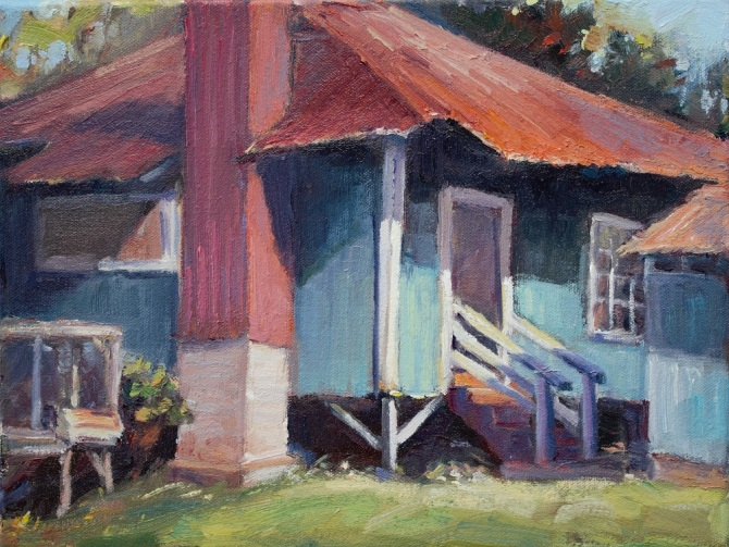 113. Hawaii Plantation House 9x12 2016