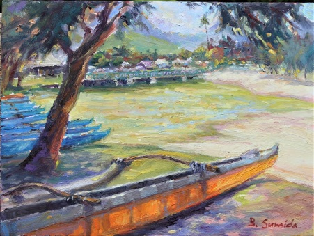 Kailua Canoe